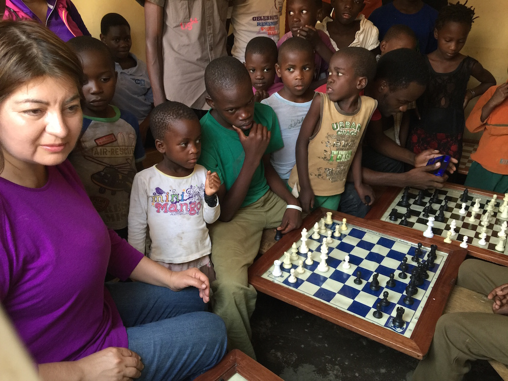 Humanitarian Efforts: Using Chess as a Tool for Social Development