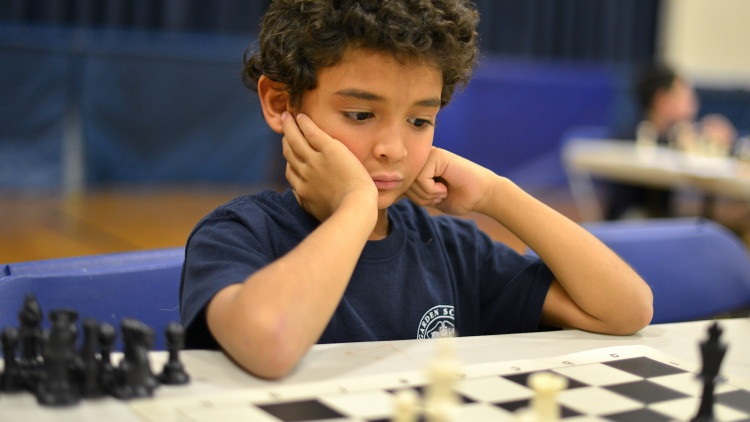 Garden School Chess Tournament Dec. 27, 2015