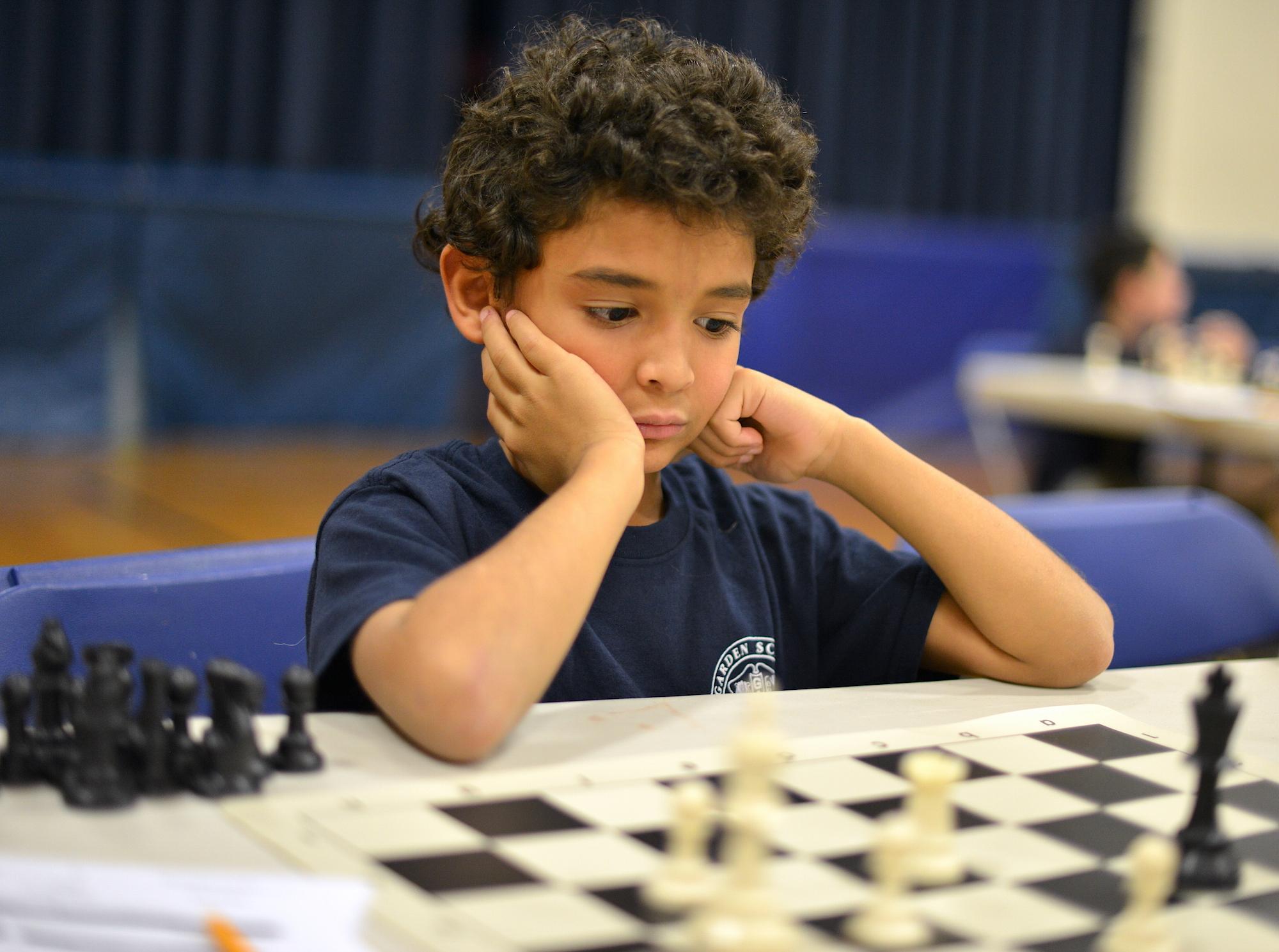 Garden School Chess Tournament Dec. 27, 2015