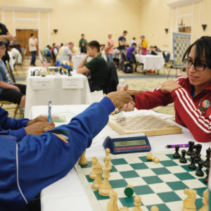 The 1st World Junior Chess Championship for the Disabled: Round 2 & 3