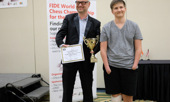 Raphael Johannes Zimmer (Germany) Wins the 1st FIDE World Junior Chess Championship for the Disabled